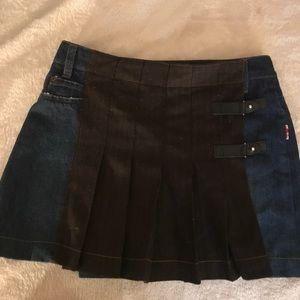 JPG Jeans mini skirt
